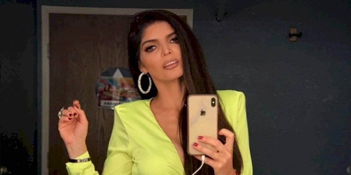 Ana Bárbara olvida el Himno Nacional de México y la hacen pedazos las redes