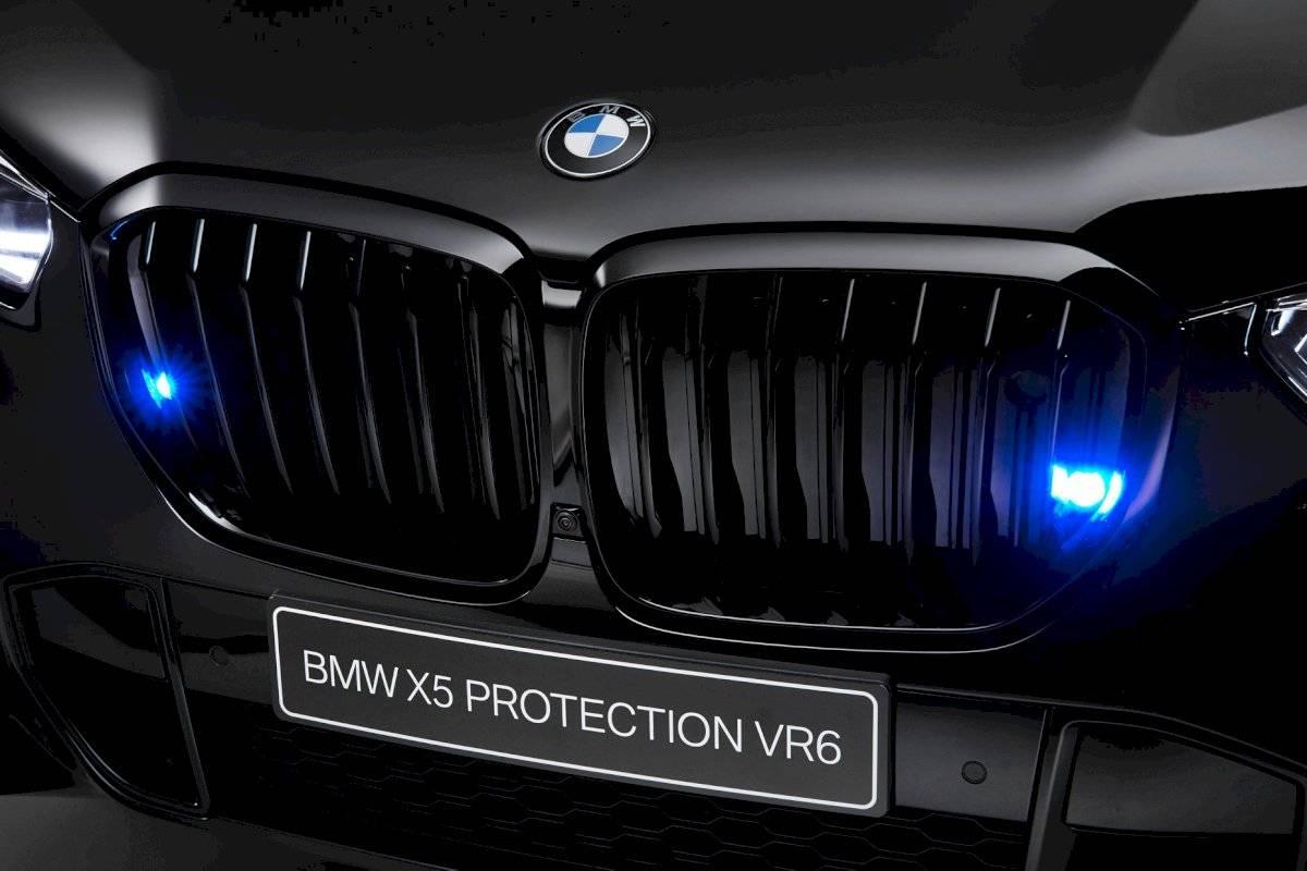 BMW X5 VR6 2020 camioneta blindada parrilla
