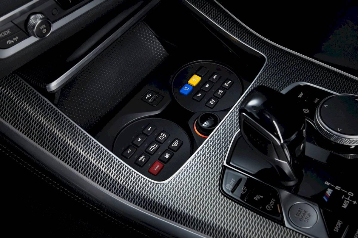 BMW X5 VR6 2020 camioneta blindada consola