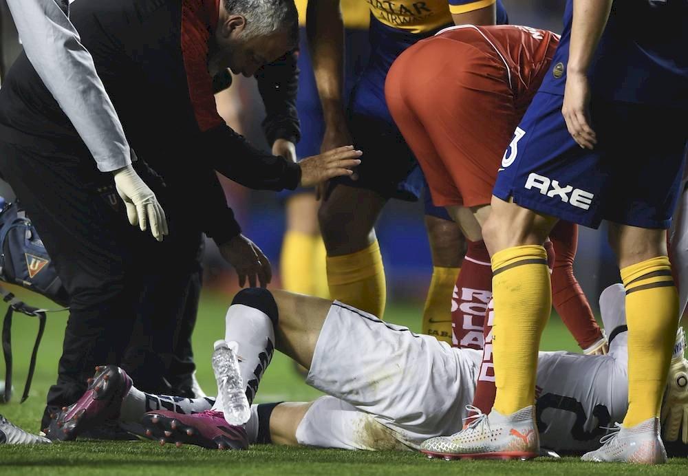 Todos los jugadores se preocuparon. / Getty Images