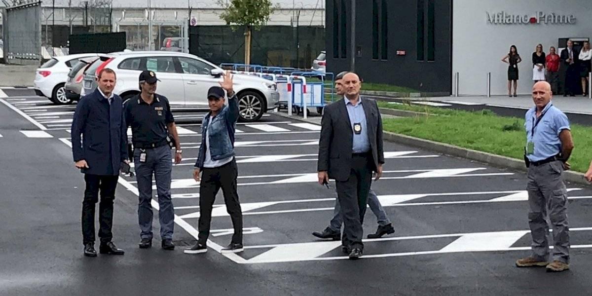 Alexis Sánchez ya está en Italia para firmar por Inter de Milán