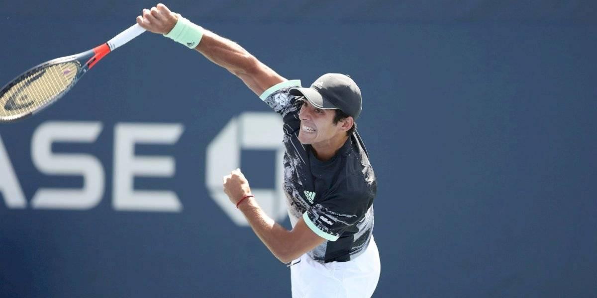 La lluvia suspendió definitivamente el partido de Cristian Garin con Álex de Miñaur en el US Open
