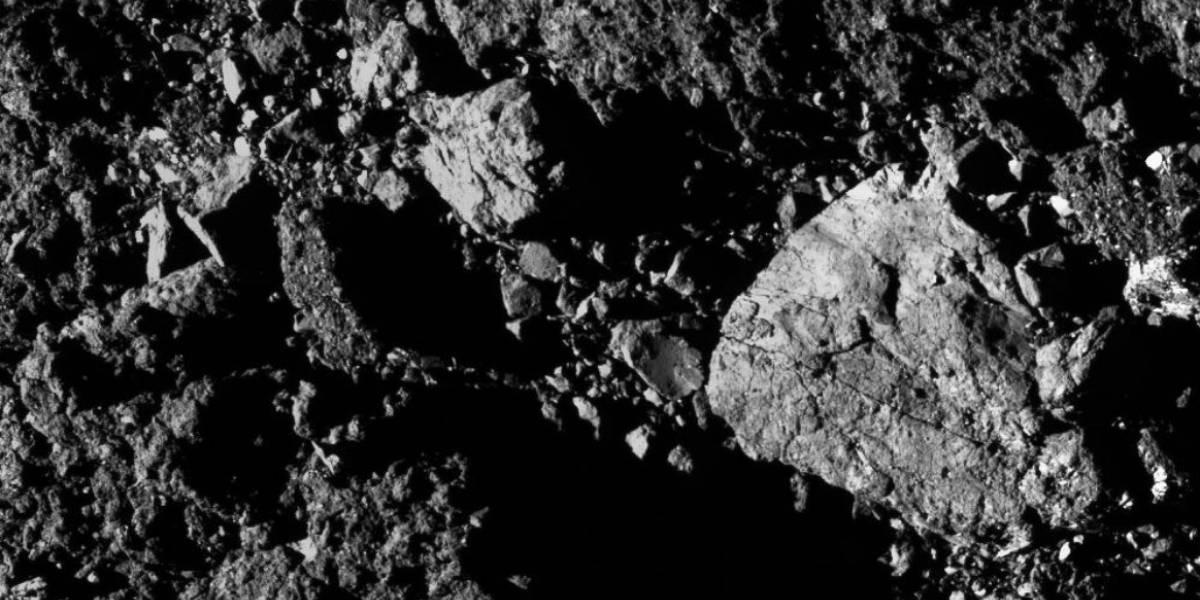 Sonda espacial OSIRIS-REx da NASA capta novo registro de asteroide que pode colidir com a Terra
