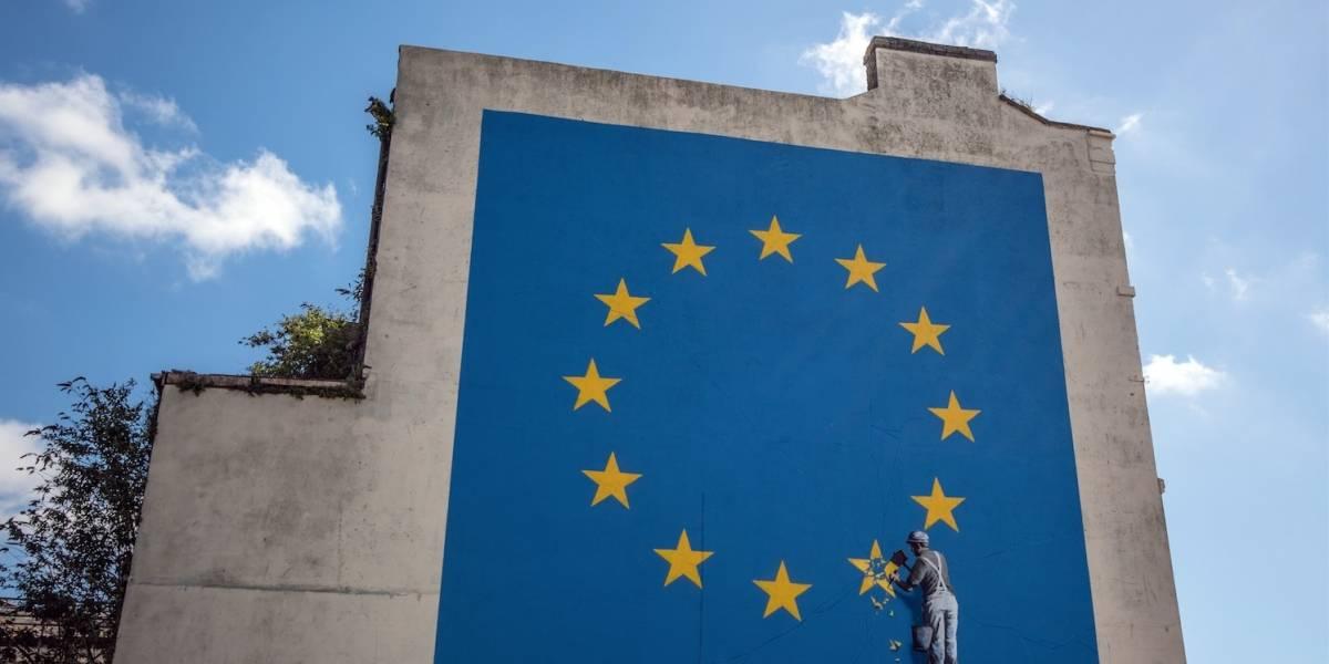 Desaparece misteriosamente el mural de Banksy contra el Brexit