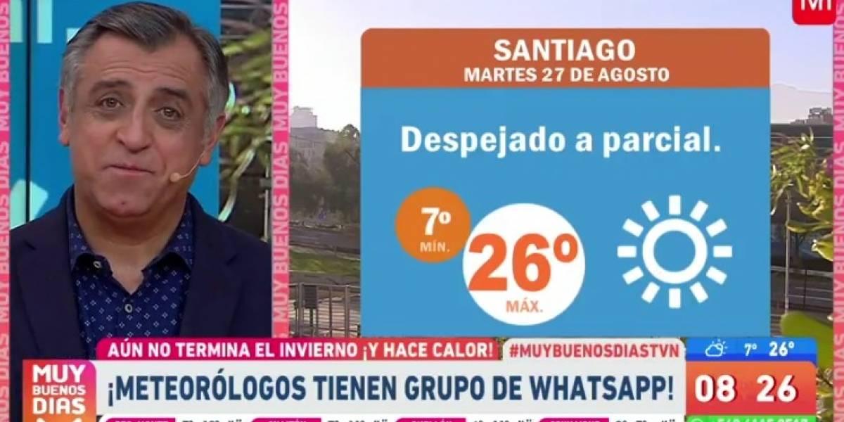 """""""Pelamos a todo el mundo"""": Iván Torres contó detalles de su chat con otros meteorólogos"""