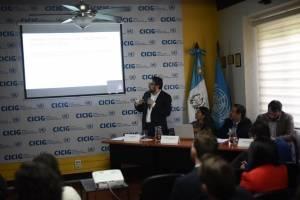 CICIG presenta informe final