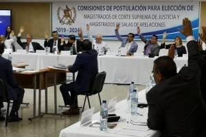 Comisión postuladora magistrados CSJ