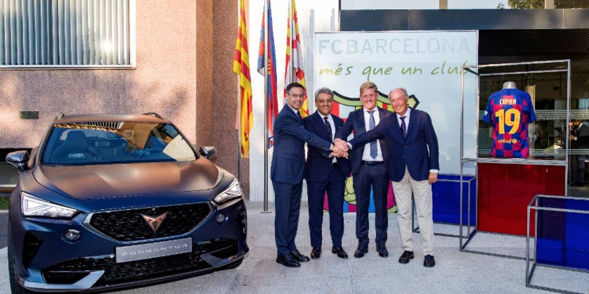 Cupra se convierte en el socio de movilidad del FC Barcelona