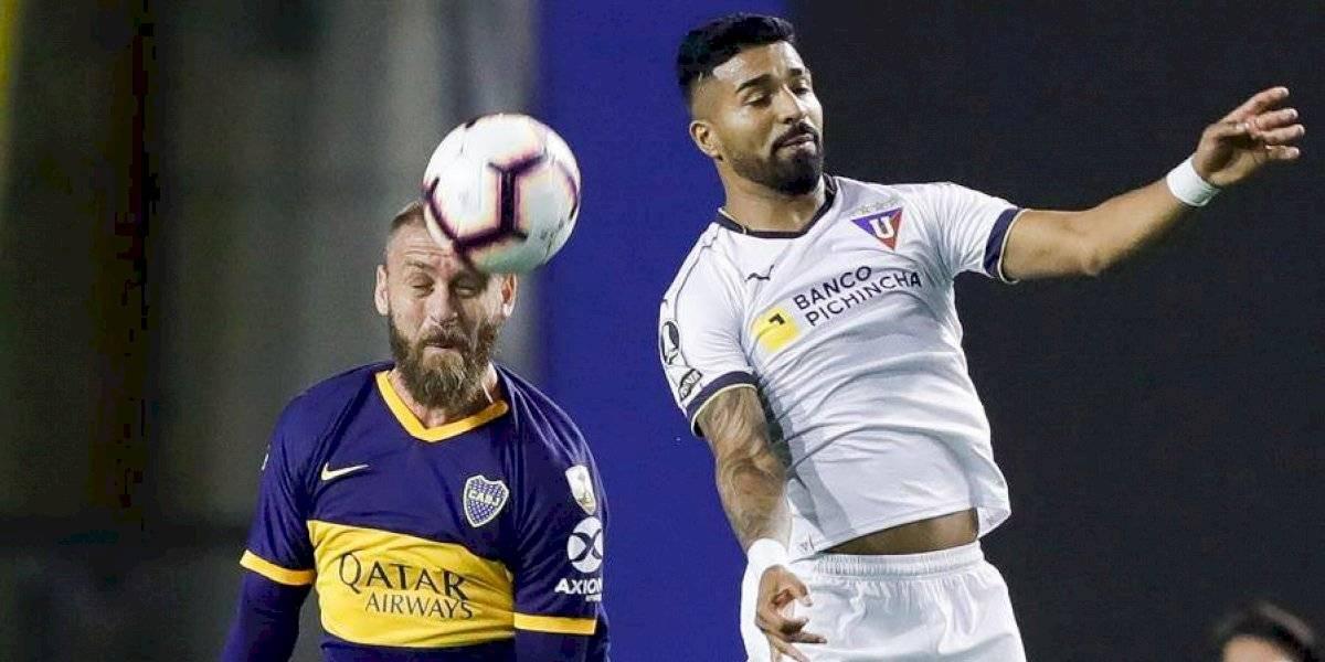 Esteban Paz reacciona a la eliminación de Liga de Quito