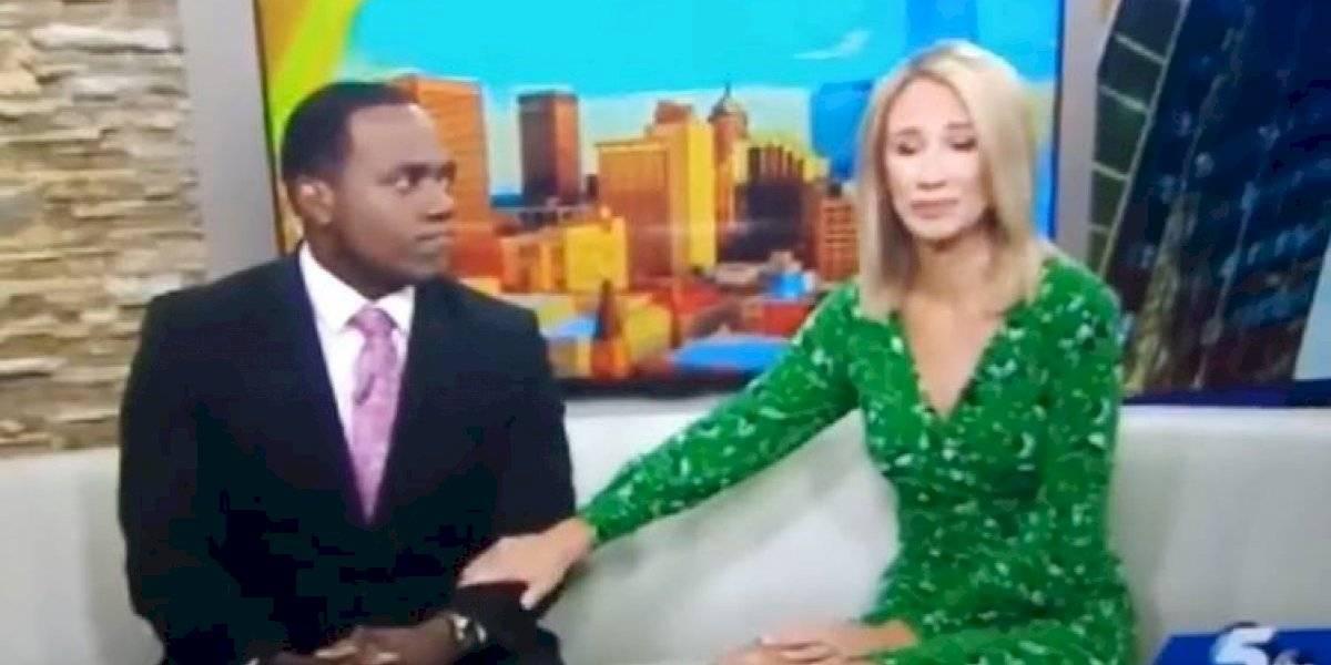 """""""Se parece a ti"""": presentadora de TV se disculpó entre lágrimas luego de comparar a su colega con un gorila"""