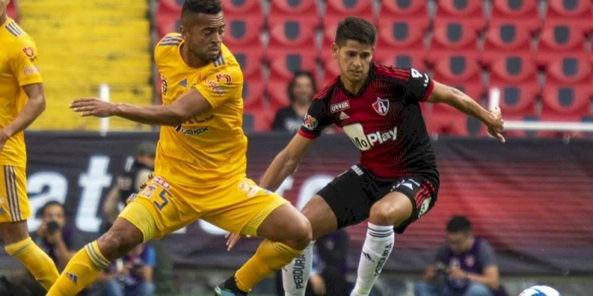 Barceló, delantero del Atlas, rompió seis meses de sequía goleadora
