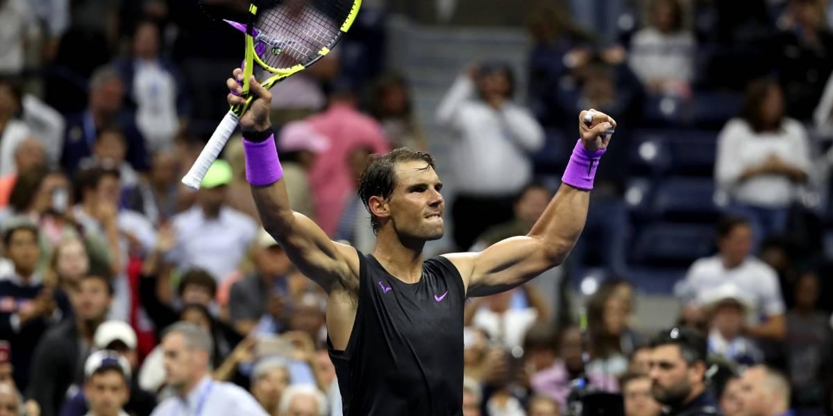 Rafael Nadal debuta con triunfo en el US Open