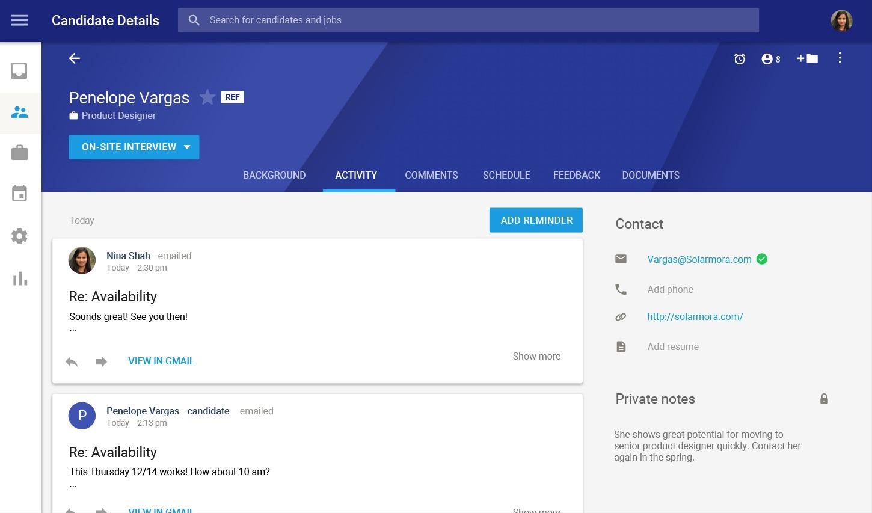 Google descontinuará su aplicación Hire durante el año 2020