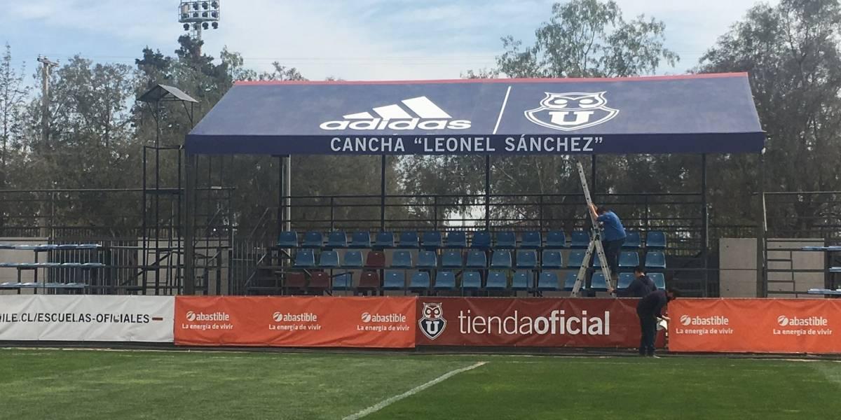 """El estadio de la U en el CDA fue nombrado cancha principal """"Leonel Sánchez"""""""