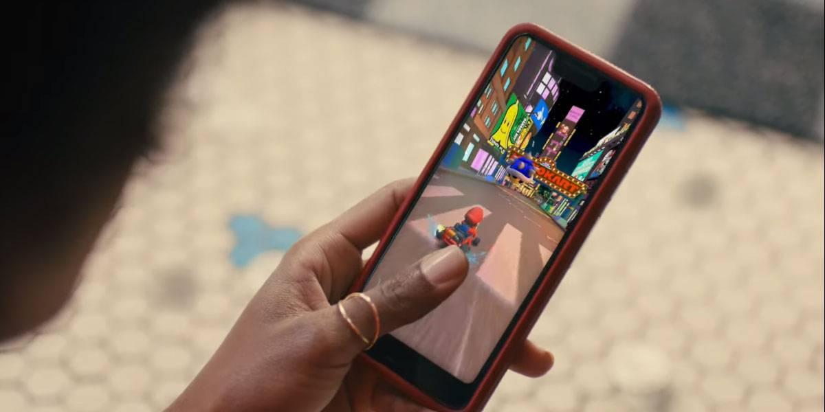 Google Play Store lanza un delirante video de Mario Kart Tour para Android