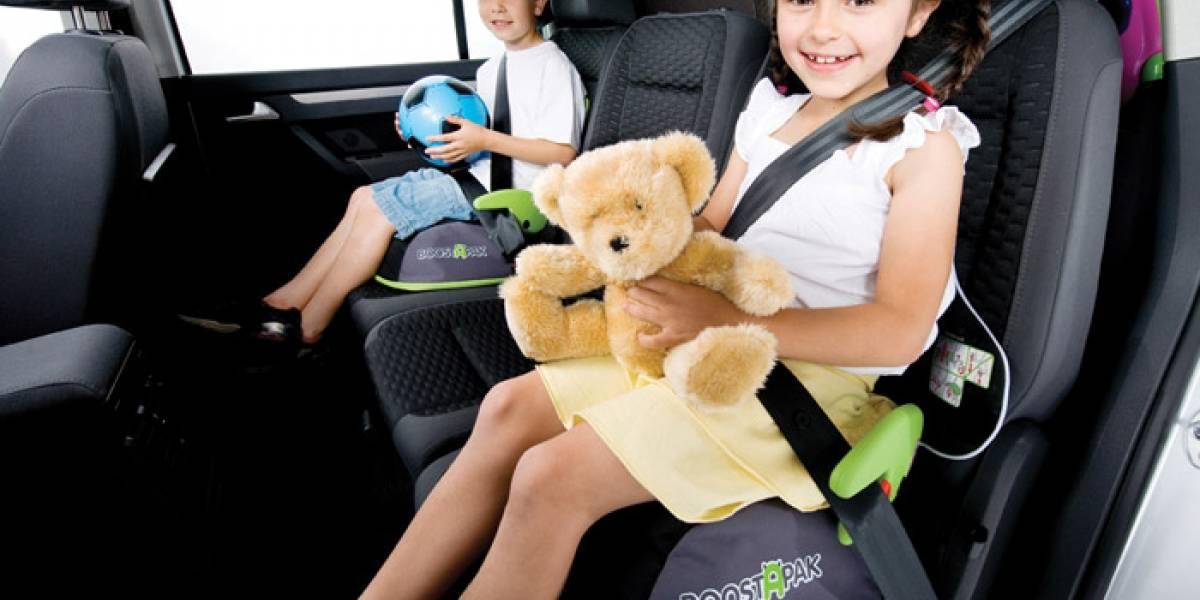 Niños prefieren ir con sus abuelos en el auto que con sus padres