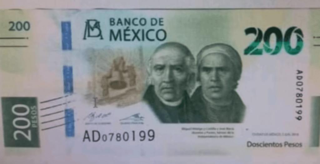 México billete 200