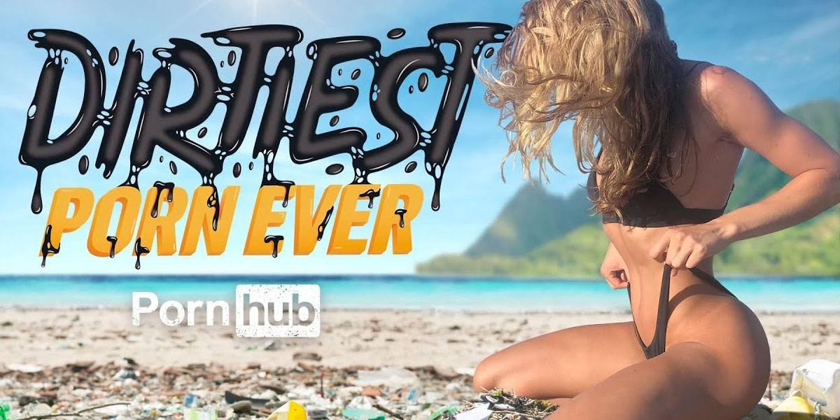 Pornhub limpiará las playas contaminadas del mundo a base de puro porno