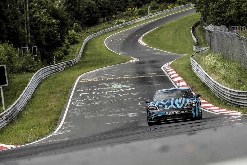Porsche Taycan 2019 Nurburgring Record