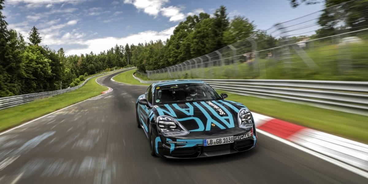 Porsche Taycan instauró nuevo récord en Nürburgring