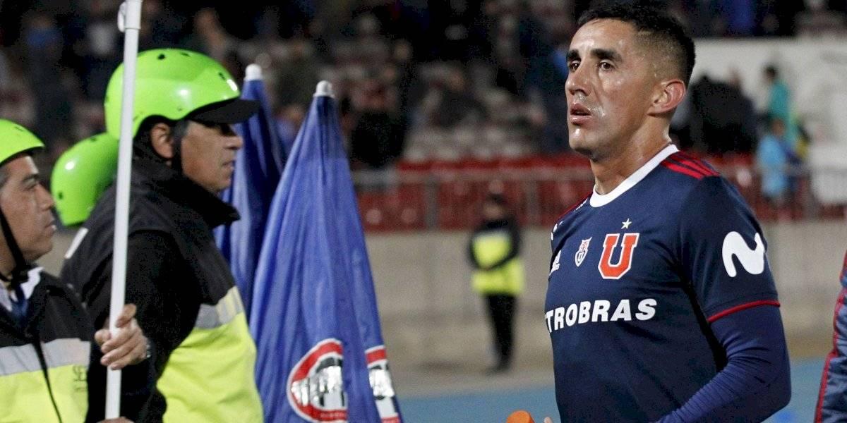 Osvaldo González sigue siendo el principal dolor de cabeza para Caputto en la U