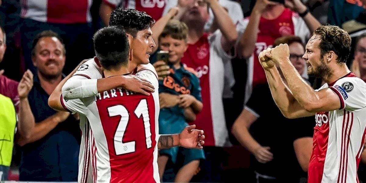 Edson Álvarez marca su primer gol con el Ajax
