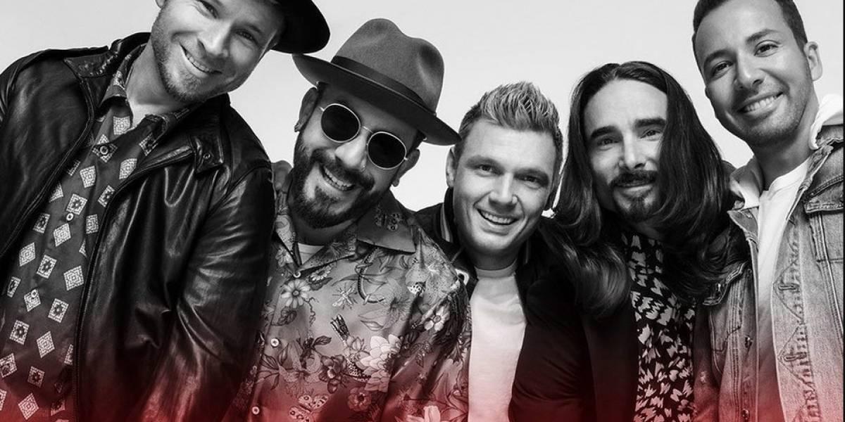 """Los Backstreet Boys se preparan para dar un concierto """"en casa"""""""