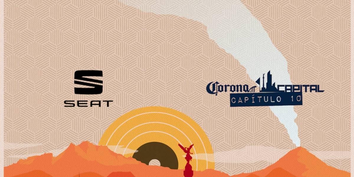 ¡Prepárense! SEAT es nuevo patrocinador de Corona Capital y tendrá su propio escenario