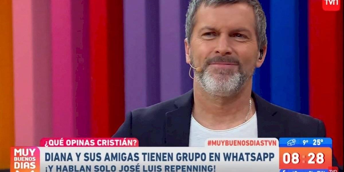 """""""Flaco insípido"""": la comentada reacción de Cristián Sánchez en contra de José Luis Repenning"""