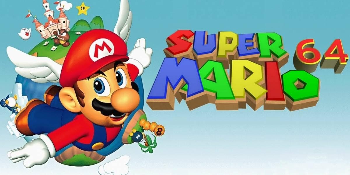 Sorprendente: aficionados estarían haciendo una réplica de Super Mario 64 dentro de Super Mario Oddysey
