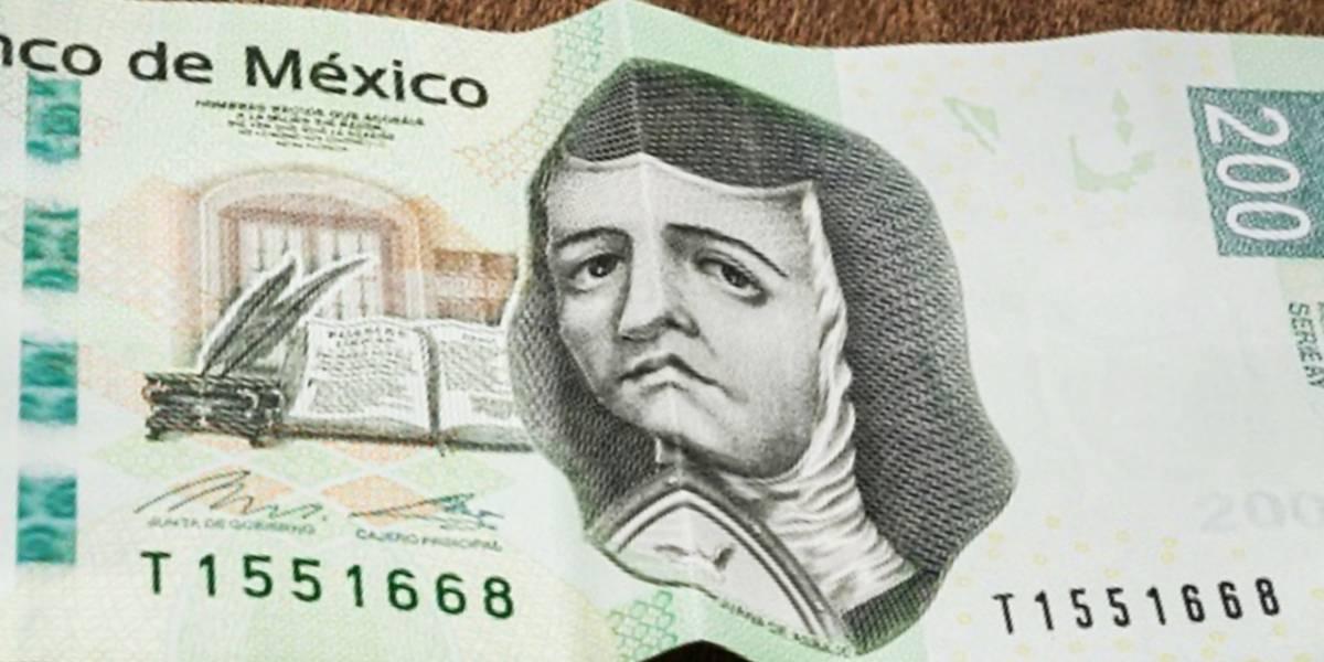 México: El nuevo billete de 200 no tendrá la imagen de Sor Juana Inés de la Cruz