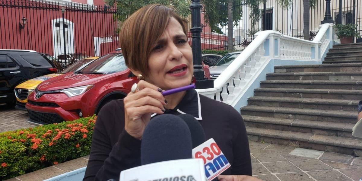 Zoé Laboy renuncia a la secretaría de la gobernación
