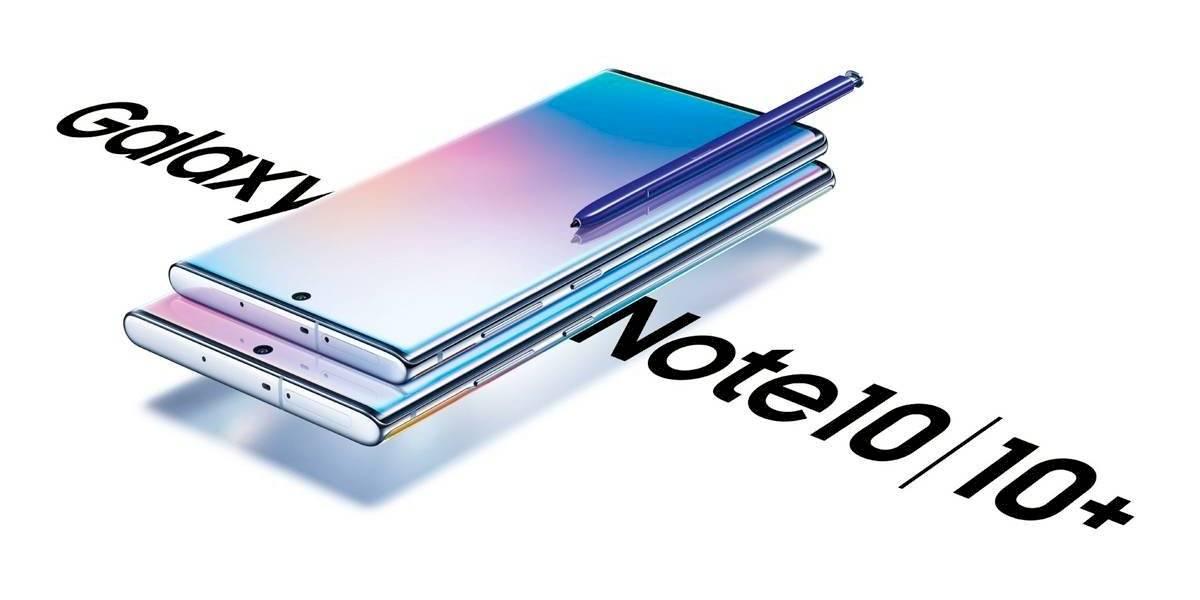Confirman la llegada oficial a Chile de Galaxy Note10 y Note10+ de Samsung