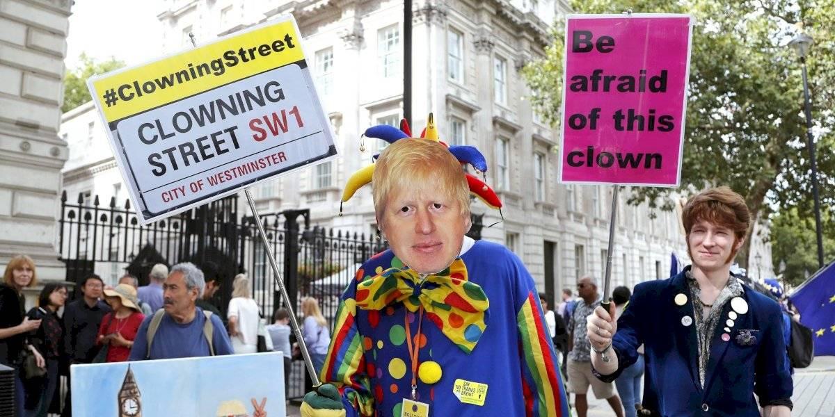Indignación entre los opositores a Boris Johnson por suspensión del Parlamento