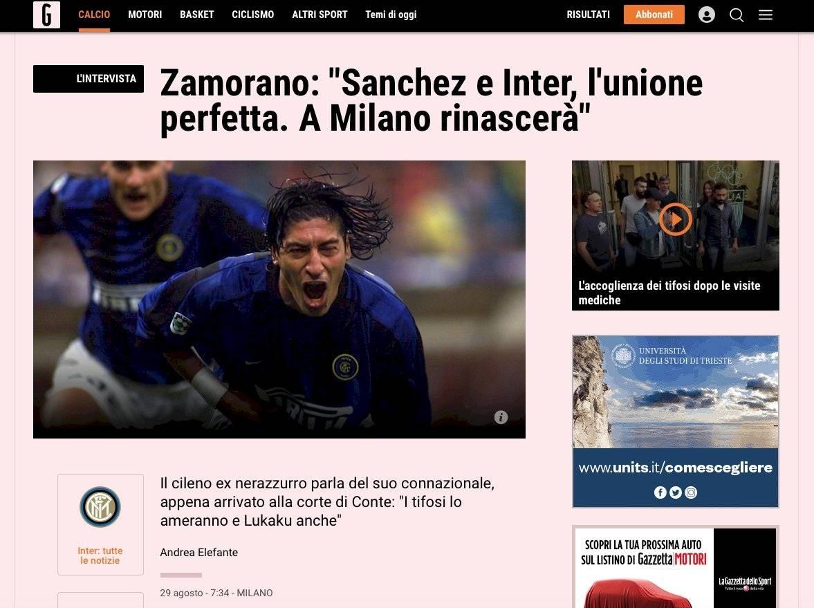 Gazzetta dello Sport Captura