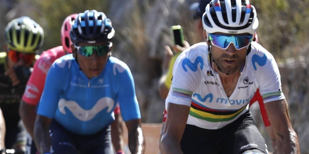 Alejandro Valverde aclaró lo que en realidad pasó con Nairo Quintana en La Vuelta a España