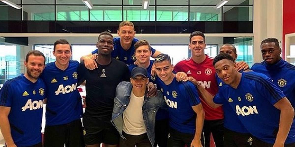 """Alexis se despidió de sus compañeros del Manchester United: """"Mucha suerte muchachos para el resto de la temporada"""""""