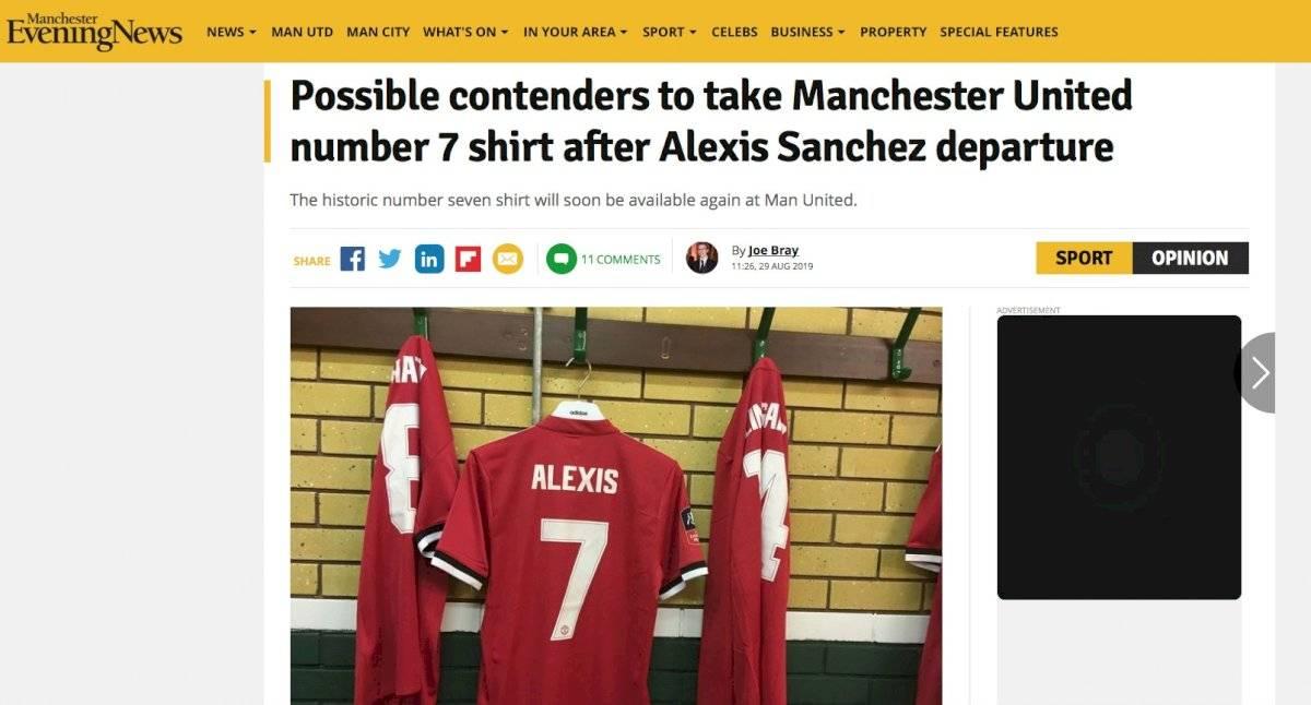 Manchester Evening News Captura
