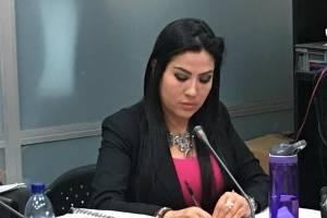 Cinthia Monterroso, fiscal de FECI que denuncia a Erika Aifán.