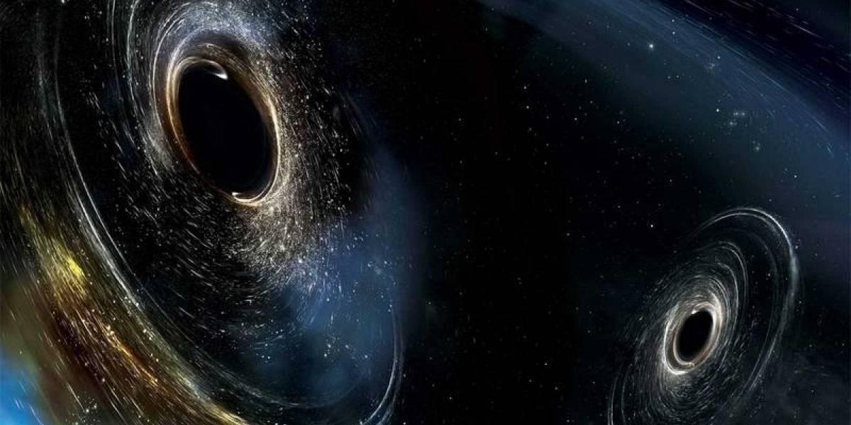 ¿Dos agujeros negros se fusionaron? Golpe de ondas gravitacionales lo pudo haber provocado