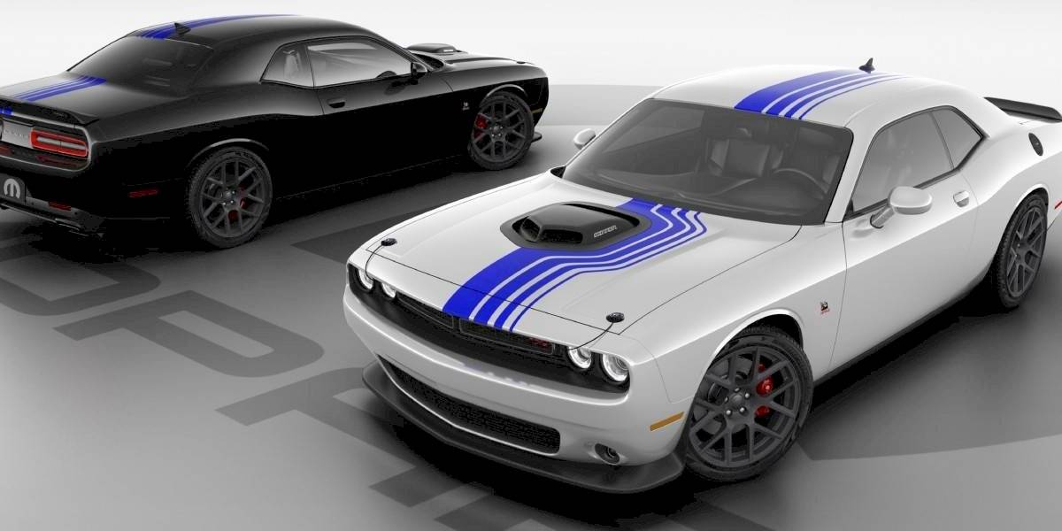 La primera década de Mopar se celebra con un Dodge Challenger especial