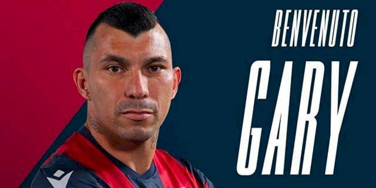 Gary Medel llegó a Bologna y de inmediato fue convocado para el duelo ante Spal