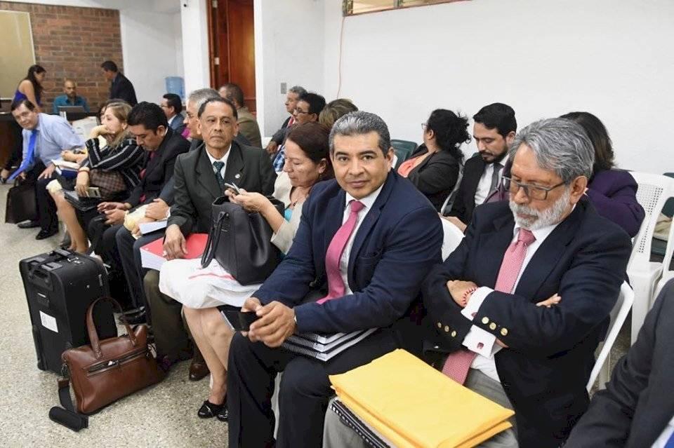 Aspirantes a magistrados de la CSJ. Foto: Omar Solís