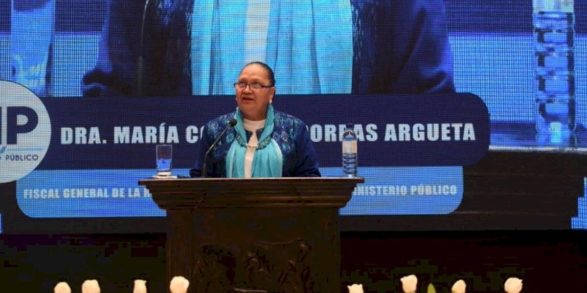 Fiscal General señala que la corrupción está presente en la estructura social del país