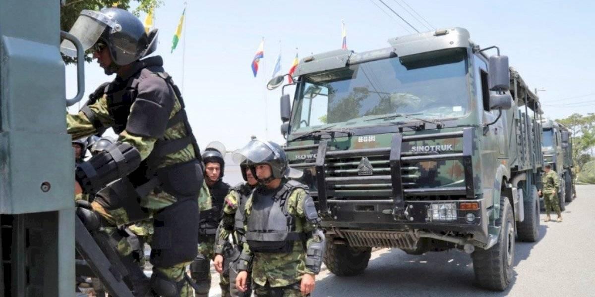 Fuerzas Militares se ocuparán de combatir la delincuencia en el Ecuador
