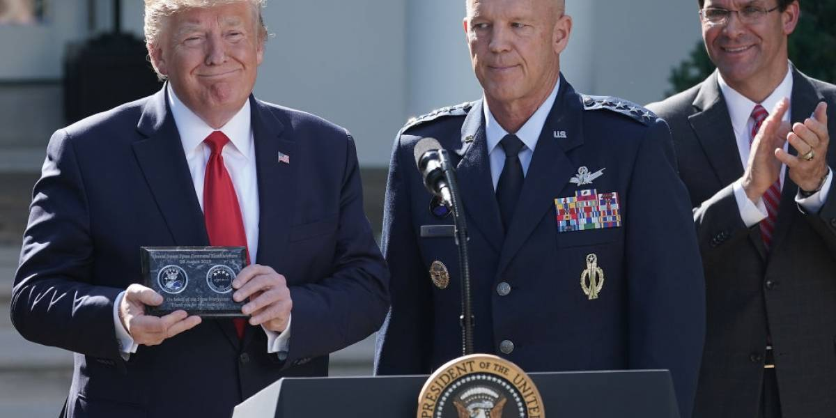 Spacecom: Donald Trump anunció oficialmente la Fuerza militar Espacial