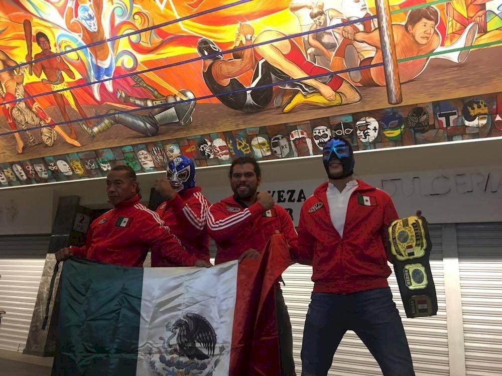 En el equipo azteca hay rudos y técnicos pero este viernes se unirán en un solo bando./ Sergio Meléndez/Publisport