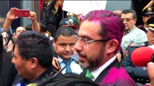 Los Simpsons también predijeron las protestas feministas con brillantina en México