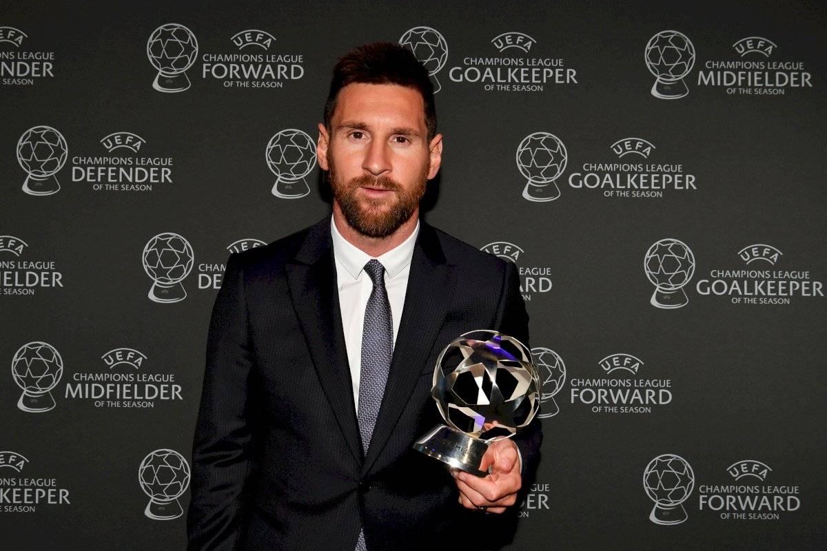 Lionel Messi, mejor delantero