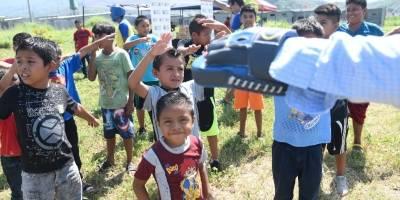 Niños de la tragedia del volcán de Fuego viven un nuevo inicio en Guatelinda